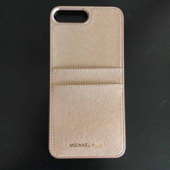 150821acd Michael Kors Saffiano Leather iPhone 7/8 PLUS Case.  M_5b0c3f3385e605f2b492e592